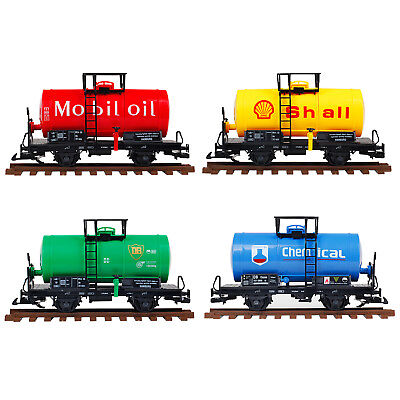 New G Scale Garden Oil Tanker Compatible 45MM Track