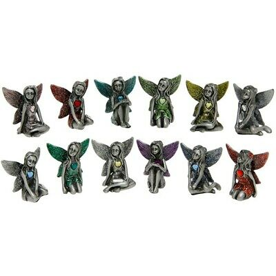 Pewter Birthstone Fairy / Fairies Collectable Boxed Gift