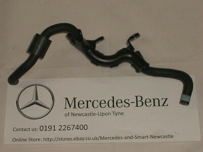Genuine Mercedes-Benz OM642 Fuel Filter to High Pressure Pump Pipe A6420701681
