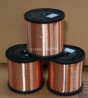5Meters 1MM  Copper Wire Red Copper Wire Conductive copper wire