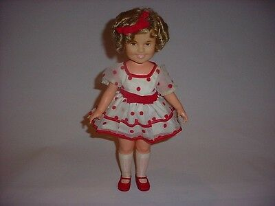 Excellent Complete Stand Up & Cheer 1972 Vintage Shirley Temple Doll by Ideal