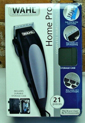 WAHL Trimmers Pro Complete Hair Cutting Kit Clippers Electric Shaver BRAND NEW