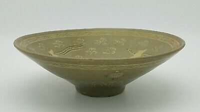 Korean Koryo Dynasty 12th to 13th century birds Pattern Bowl