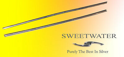 """Sweetwater Pair 3"""" 99.99% Pure Silver Wire Rods PROMO Free Colloidal Mail"""