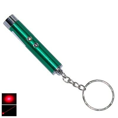 ASR Laser Pointer Key Chain Stainless Steel Travel Tool