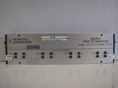 Weinschel Engineering Binary Step Attenuator:  Model AF-144-11-11