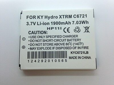 Lot Of 5 New Battery For Kyocera C6721 Hydro Xtrm Gsm C6522 T Mobile At&t