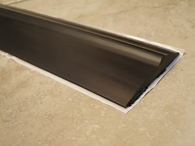 Heavy Duty Garage Door Weather Seal Threshold - Bottom Seal-8' - SELF ADHESIVE!