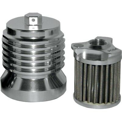 PC Racing PCS4C Reusable Stainless Oil Filter 82-18 Harley V-Twin 030093