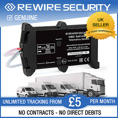 DB2 Car Van Vehicle Caravan Fleet GPS Tracker Tracking System Device Motorbike