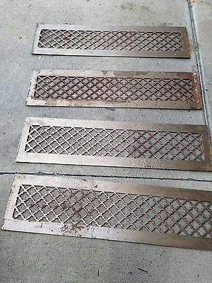 4 Available Steel As Found Gothic Pattern Heating Greats