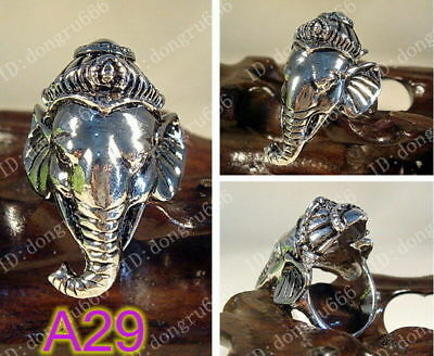 Wholesale~New Lucky Totem Tibetan Tibet Silver Ring - 34 style