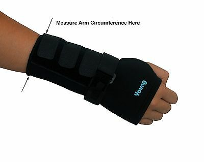 One Pair of Wrist Supports w/ Splint - Carpal Tunnel Braces - Left and Right