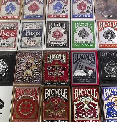 US Playing Cards Bicyle Rider Bee Deck standard speciale truccato gaff bycicle