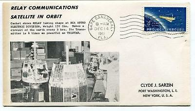 1962 Relay Communications Satellite Orbit RCA Astro Electric Division Canaveral