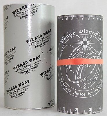 "Flange Wizard 496-WW-19 Wizard Wrap Extra Large 12"" to 48"" Pipe"