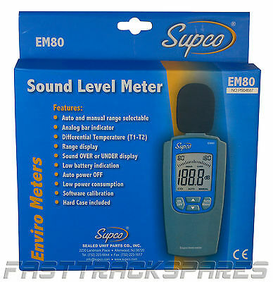 SUPCO: Sound Level Meter 30dB to 120dB (FT857)