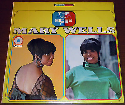 LP MARY WELLS The two sides of (Atco 66 USA) 1st press soul jazz RARE SEALED!