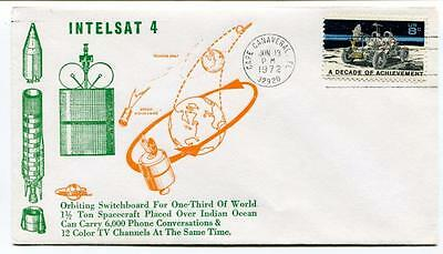 1972 Intelsat 4 Orbiting Switchboard One-Third World Spacecraft Cape Canaveral