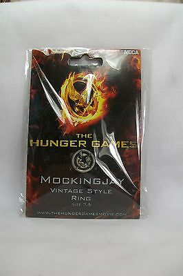The Hunger Games Metal Mockingjay Vintage Style Ring Size: 7.5 *New