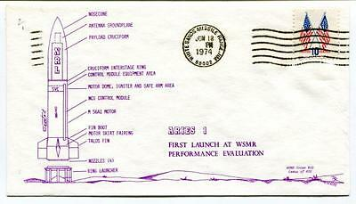 1974 Aries 1 First Launch WSMR Performance Evaluation White Sands Missile Range