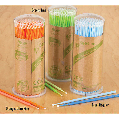 Disposable Micro Applicators- Ultra-Fine (Orange color), 400/box, ShipOut 24 hrs