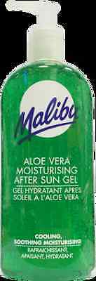Malibu Moisturising After Sun Gel With Aloe Vera 400ml