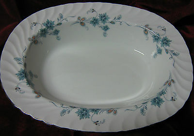 "1 - Aynsley Delphine (8372) 10"" Open vegetable Dish (2014-044)"