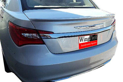 Chrysler 200 2011-2014 Painted Factory Style Lip Mount Rear Spoiler   USA Made