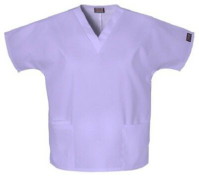 Cherokee Scrubs 4700 V Neck Scrub Top Orchid by Workwear free shipping.