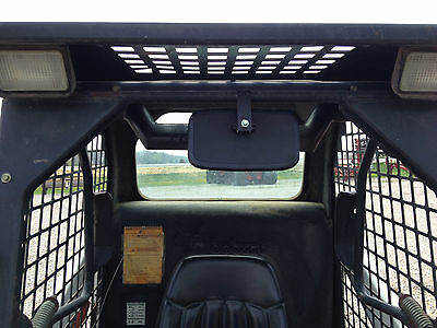Universal Rearview Mirror for Skid Steer such as Case, Bobcat, Mustang, Cat....