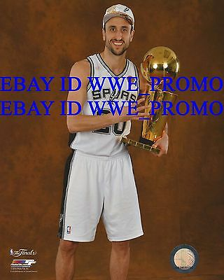 Manu Ginobili San Antonio Spurs NBA Finals Champions NBA 8X10 BASKETBALL PHOTO