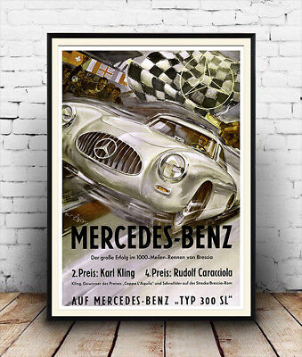 Mercedes Benz Poster reproduction