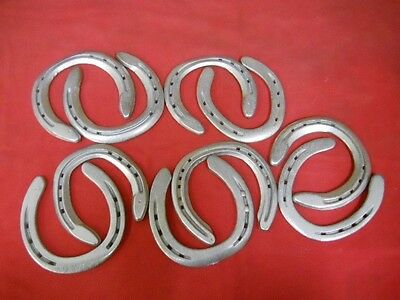 Lot of 10 Used Steel Horseshoes SUPER CLEAN not rusty lucky