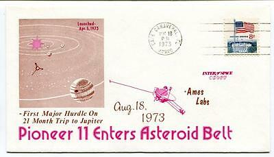 1973 Pioneer 11 Enters Asteroid Belt Cape Canaveral Ames Labs First Major Hurdle