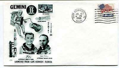 1966 Gemini Titan-10 Navy Recovery Astronaut Young Collins Cape Kennedy