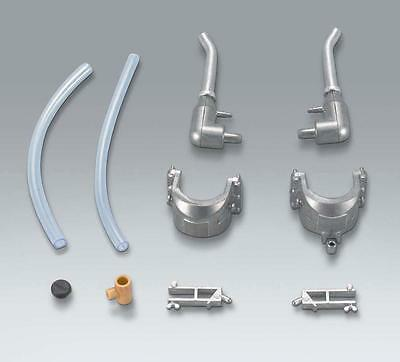 Taigen metal exhausts for Heng Long King Tiger  1:16 scale tank
