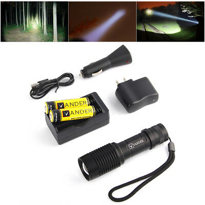 UltraFire CREE Q5 1200 Lumen 14500 ZOOMABLE LED Flashlight Torch