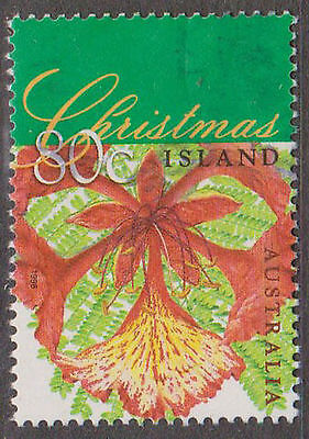 (T10-73) 1998 Christmas Island 80c flame tree (D) F/Usd