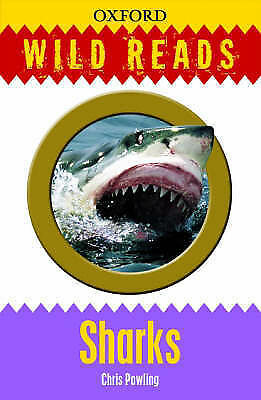 Oxford Wild Reads : Sharks (New) Free P+P