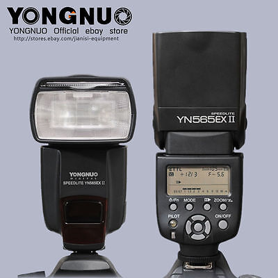 New YONGNUO YN565EX II Flash Speedlite for CANON E-TTL 650D 60D 50D 6D 5D