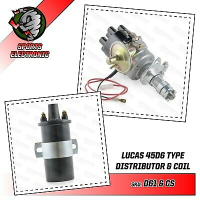 45D6 Sports Electronic Distributor & Ignition Coil Powerspark with full warranty