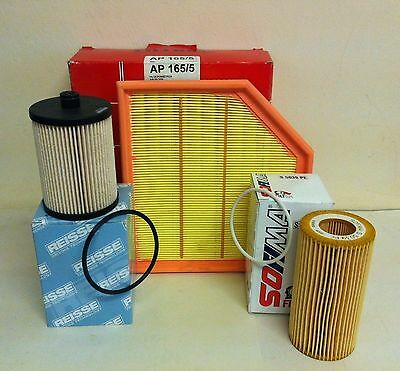 For Volvo Xc90 2.4 D5 Awd 08/05-> Diesel Service Kit Oil Air Fuel Filter