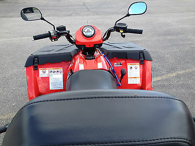 Rear view mirror set for Kawasaki line of ATVs, Universal fit on handle bars