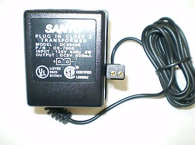 Sanyo D-6000US D-57000 AC Adapter Power Supply for Sanyo Dictator Transcribers