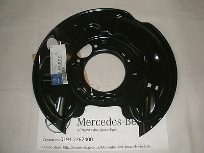 Genuine Mercedes-Benz W203 C-Class RH REAR Brake Backing Plate A2034230420 NEW