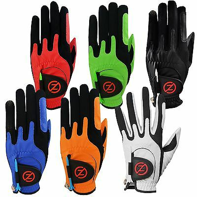 2016 Zero Friction Compression-Fit Performance Golf Gloves *Molds To your Hand*