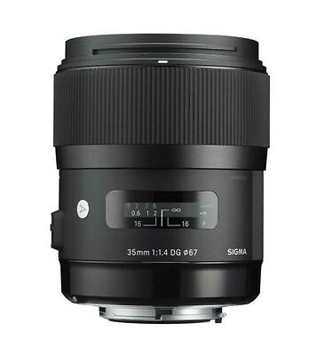 Sigma 35mm F1.4 Dg Hsm Lens Art Series Nikon AF DSLR Fit In Stock Now
