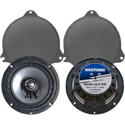 "Hogtunes 6.5"" Speaker Pair for Front of Harley FLHT/FLHX Rushmore Models 14-16"