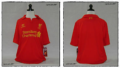 Warrior Liverpool FC The Reds Soccer Futbol Jersey Youth EPL BPL FA